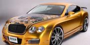ASI Bentley Continental GTS Gold 2008