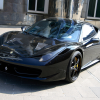 Anderson Germany Ferrari 458 Italia Black Carbon Edition 2011