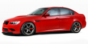 IND Distribution BMW M3 Sedan Red Death E90 2010