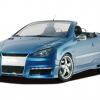 RDX Racedesign Peugeot 206 CC 2003
