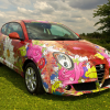 Alfa Romeo MiTo Art Car by Louise Dear 2011