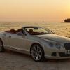 Bentley Continental GTC Silk White 2011