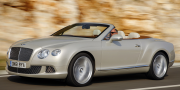 Bentley Continental GTC White Sand 2011