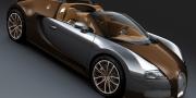 Bugatti Veyron Grand Sport Brown Carbon Fiber and Aluminum 2012