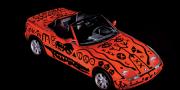 BMW Z1 Art Car by A.R. Penck E30 1991