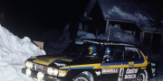 Saab 99 Turbo Rally Car