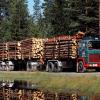 Scania LBT140 Timber Truck 1968-1972