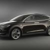 Tesla Model-X Prototype 2012