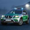 BMW X3 Police Car 2012