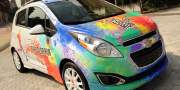 Chevrolet Spark pace Car for the Color Run 2012