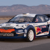 Hyundai Veloster Red Bull Rally Car 2011