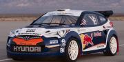 Hyundai Veloster Red Bull Rally Car 2011