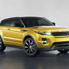Land Rover Range Rover Evoque coupe sicilian yellow 2013