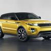 Land Rover Range Rover Evoque coupe sicilian yellow 2013
