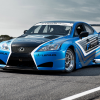 Lexus IS f race car 2012