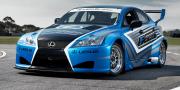 Lexus IS f race car 2012