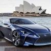 Lexus LF lc blue concept 2012