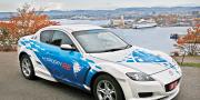 Mazda rx-8 hydrogen re dual fuel system 2009