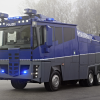 Mercedes actros 3341 6×6 police water cannon 2009