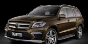 Mercedes gl-350 bluetec 4matic x166 2012