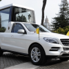 Mercedes m-klasse ml popemobile 2012