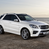 Mercedes ml-350 bluetec amg sports package w166 uk 2012