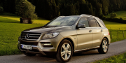 Mercedes ml-500 blueefficiency w166 2012