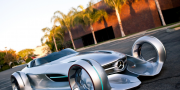 Mercedes silver arrow concept 2011