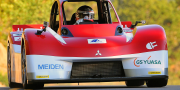 Mitsubishi i miev evolution pikes peak race car 2012