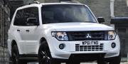 Mitsubishi shogun black edition 2012