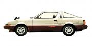Mitsubishi starion turbo gsr x 1982-87