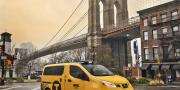 Nissan nv200 new-york taxi cab 2013