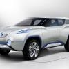 Nissan terra fcev concept 2012