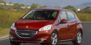 Peugeot 208 5-door australia 2012