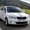 Skoda octavia green e-line test car 2012