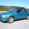 Suzuki swift cabriolet 1992-1995