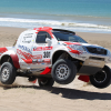 Toyota hilux rally car 2012