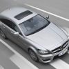 AMG mercedes  cls 63 shooting brake x218 2012