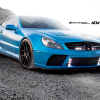 AMG mercedes sl65 black series adv 1 wheels 2012