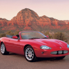 Jaguar xkr convertible 1998-2002