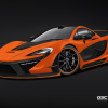 German Special Customs McLaren P1 Night Glow 2014
