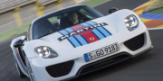 Porsche 918 Spyder Weissach Package Martini Racing 2014