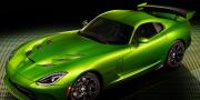 SRT Dodge Viper GT Stryker Green 2014