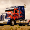 Western Star 4900 Optimus Prime 2014