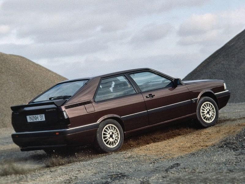 Audi Coupe Quattro 1984 1988 Audi Coupe Quattro 1984 1988 Photo 02