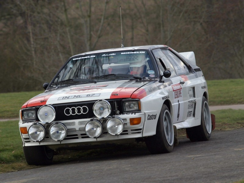 Audi Coupe Quattro Rally Cars For Sale