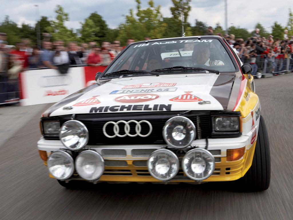 INSANE Audi Quattro Sport S1 1000 Lakes Group B