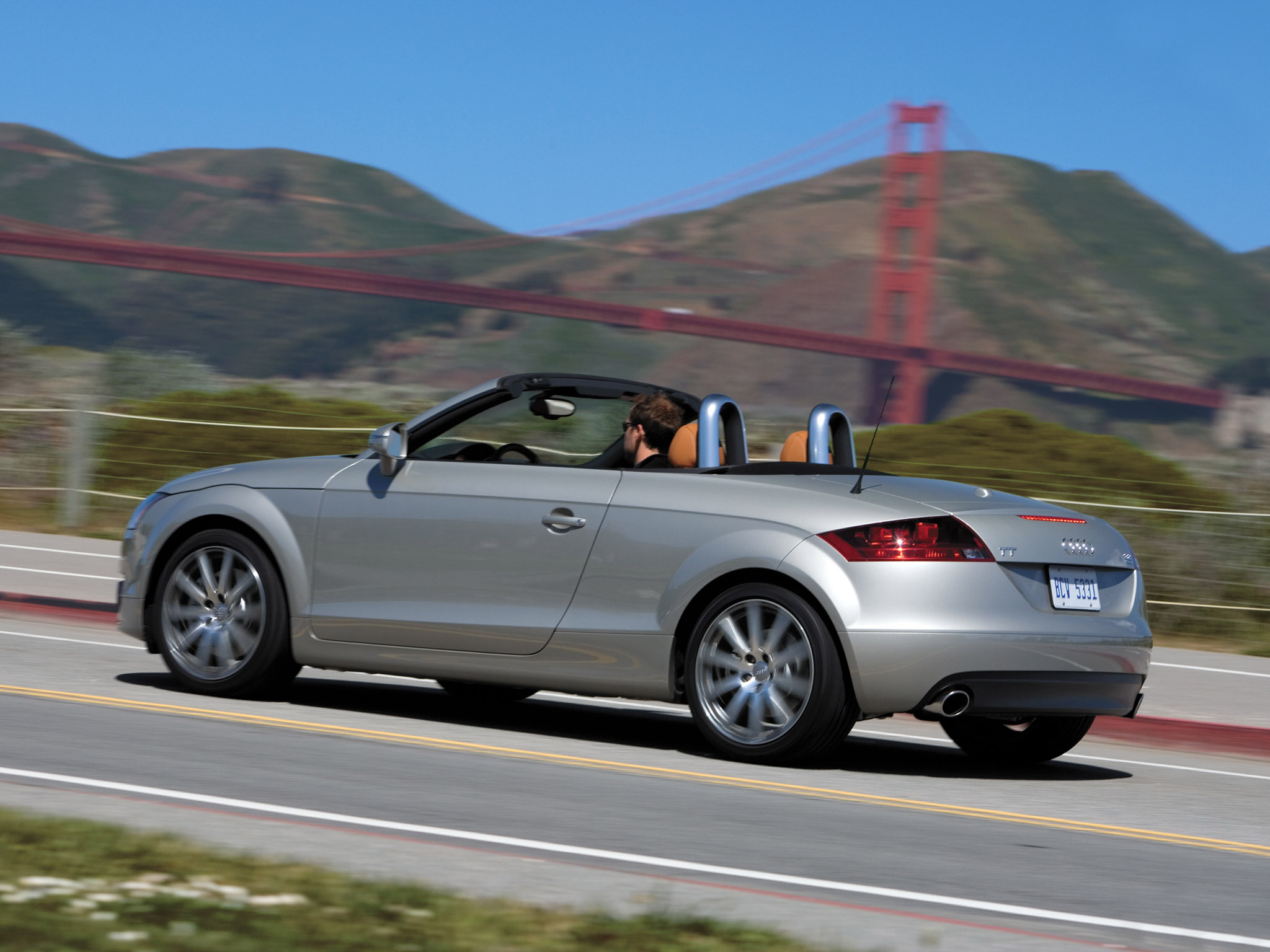 Audi Tt Roadster Usa 2007 Audi Tt Roadster Usa 2007 Photo