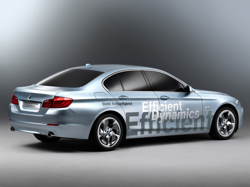 BMW 5-Series ActiveHybrid Concept 2010 Photo 04