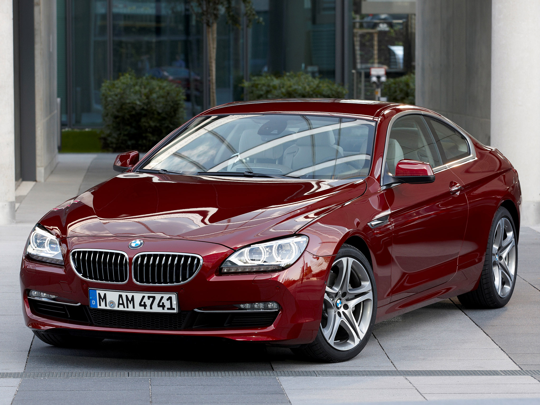 BMW 6Series 640i Coupe F12 2011 BMW 6Series 640i Coupe F12 2011